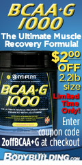 MRM BCAA+G $2.00 off! (VAMP)