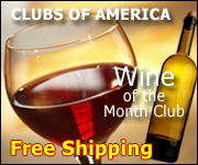 Wine of the month club - Free shipping