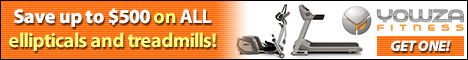Pre-Holiday Special: Save Up to $500 on All Treadmills and Ellipticals and free expedited shipping!