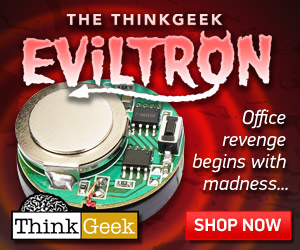 Eviltron coin sized noise device