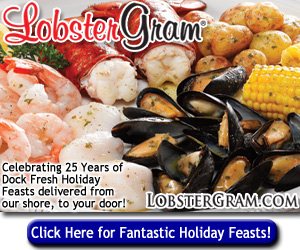 Lobster Gram great holiday dinners