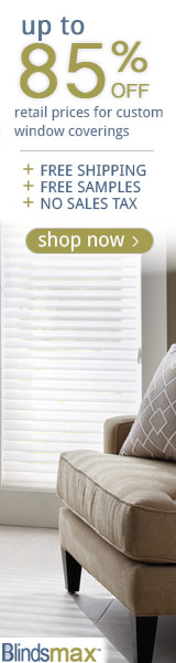 85% Off Retail Prices On Blinds & Shades