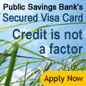 Apply Now for a Public Savings Secured Visa