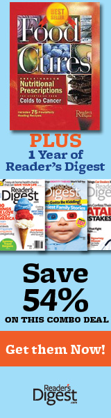 51% Discount on Reader's Digest Magazine & Book