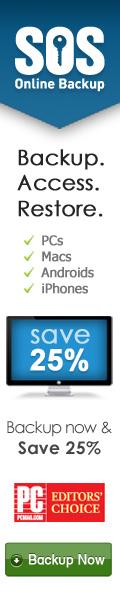 Online Backup - 25% Off