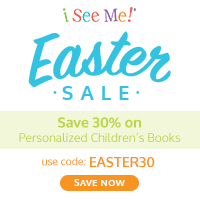 Easter Sale at ISeeMe! Save 30% on Everything. Use code EASTER30 valid 4/3-4/9