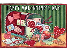 Valentine's Day Postcards from Susan Winget