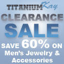 Buy designer fashion and apparel at Mens Titanium Tungsten Jewelry.