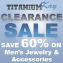 Buy designer fashion and apparel at Mens Titanium Tungsten Jewelry.