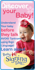 Discover your baby with Sign Language