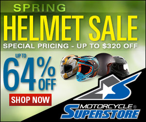Save up to 68% off during our Super Helmet Sale!