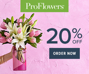 20% off Mother's Day Flowers & Gifts at ProFlowers (min $29) - 300 x 250