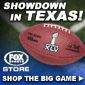 Super Bowl shop at Fox Sports