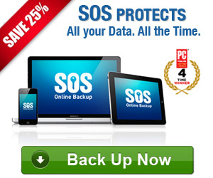 Online Backup - 25% Off discount