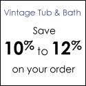 Free Shipping at VintageTub.com