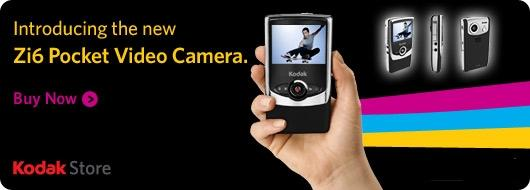 New Kodak Zi6 Pocket Video Camera