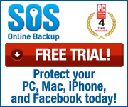 SOS Online Backup Free Trial Offer