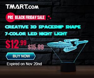 Pre-Black Friday Sale - Start $1.59