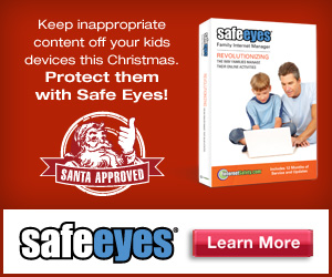 Santa endorses Safe Eyes