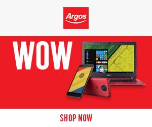 televisions at Argos