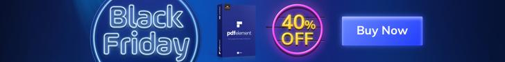 40% Off Wondershare PDFelememt