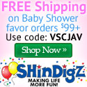 ShindigZ Baby Shower Party Supplies - Save 10%