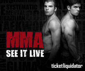 Buy MMA Tickets