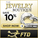 Introducing the FTD Jewerly Boutique, Save 10% on stunning necklaces, earrings, and pendants