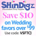 Save 10% on ShindigZ Wedding Party Supplies