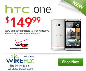 HTC One for Verizon Wireless at Wirefly!