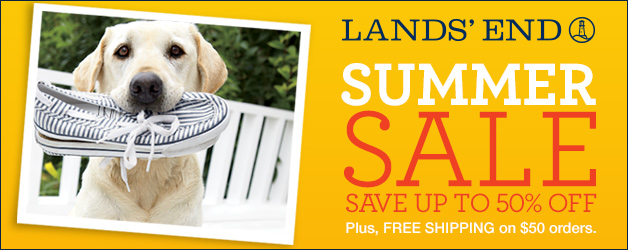 Lands' End Summer Sale