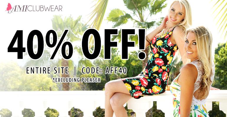 Save 40 off site wide shoes cloths coupon sale
