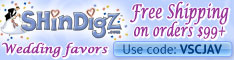 FREE Shipping on Wedding Orders $85+ at Shindigz