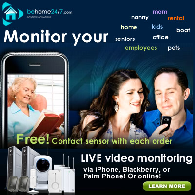 Monitor your home or office from anywhere
