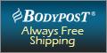 BODYPOST Always Free Shipping