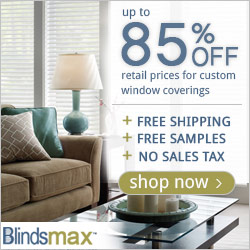 Up to 85% Off Custom Blinds and Shades