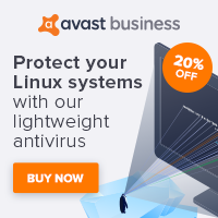 Image for US Avast Antivirus for Linux 20% off - 200x200