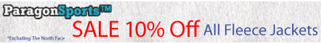 10% OFF Fleece Jackets