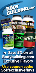 Bodybuilding.com Exclusive Flavors Coupon