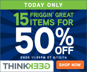 50% off our Top 15 Items