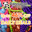 Up to 46% off daily on jewelry beads, acrylic beads, gemstone beads, rhinestone beads, ect.