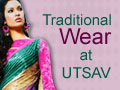 Traditional wear from UTSAV for online shopping