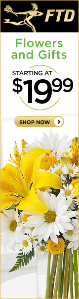 Summer Flowers and Gifts starting at $19.99 160 x