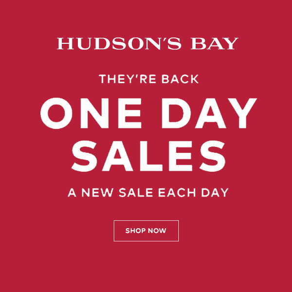 One Day Sales at TheBay.com