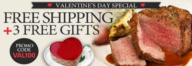Chicago Steak Company - Free Cheesecake for Valentine