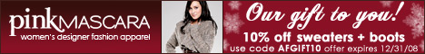 10% OFF Fashion Designer sweaters & Boots Afgift10