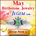 Check out May Birthstone Jewelry at JeGem.com!