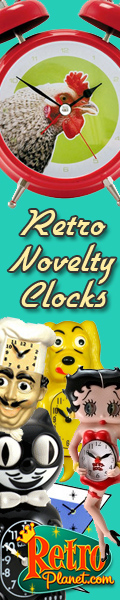 Shop Retro Novelty Clocks