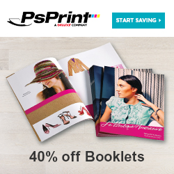 Save 40% on Booklets at PsPrint!