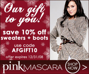 10% Off Fashion Sweaters & Boots Afgift10